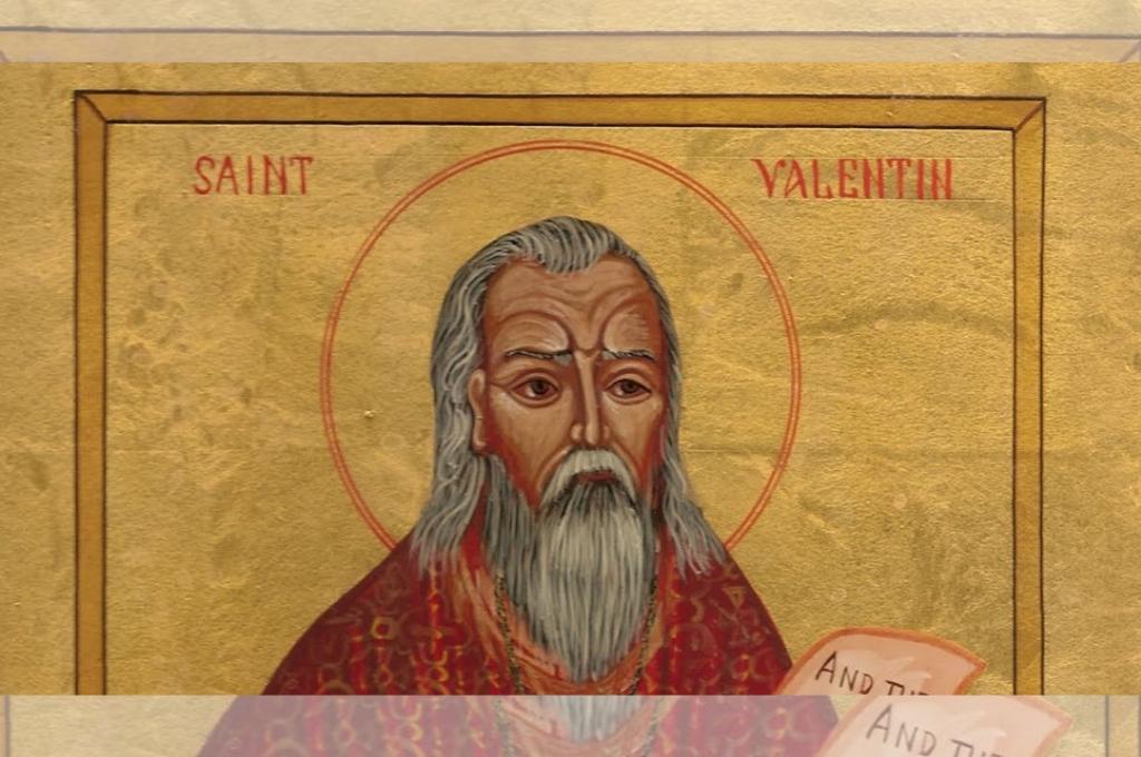 Retrato de San Valentín de Roma. Crédito: Archivo