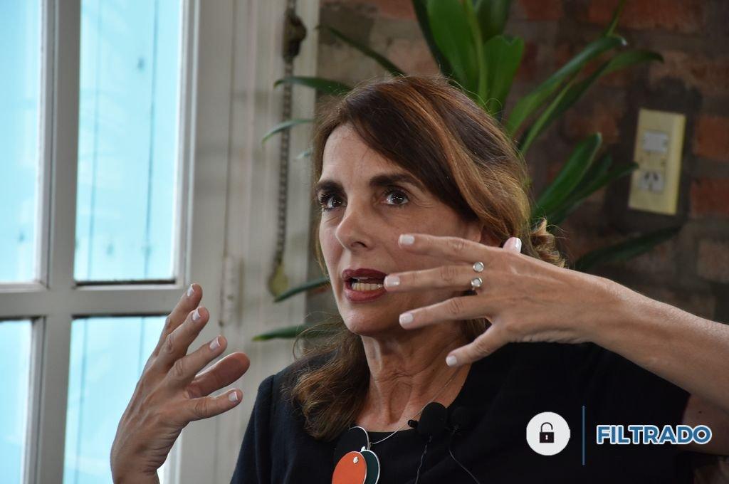 María Eugenia Bielsa, ex vicegobernadora; precandidata a gobernadora por el PJ. <strong>Foto:</strong> Guillermo Di Salvatore