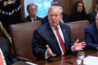 """Trump: """"Tengo un plan B, C y D"""" para Venezuela"""