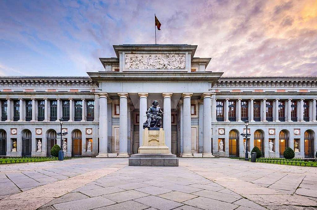 Museo del Prado. <strong>Foto:</strong> Captura digital