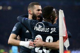 Con un polémico gol anulado a Tagliafico, Real Madird le ganó al Ajax
