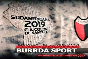 Colón: Nueva camiseta para la Sudamericana