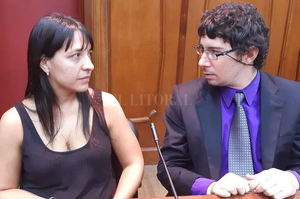 Los fiscales Alejandra Del Río Ayala y Matías Broggi. <strong>Foto:</strong> Prensa MPA