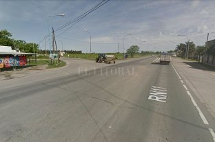 Juzgarán a un conductor por la muerte de dos jóvenes de Recreo - Cruce de las rutas Nacional N° 11 y Provincial N° 5, a metros de donde se produjo el accidente.