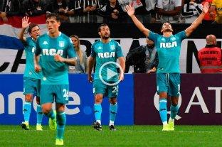 Racing se traía la victoria pero Corinthians se lo igualó -  -