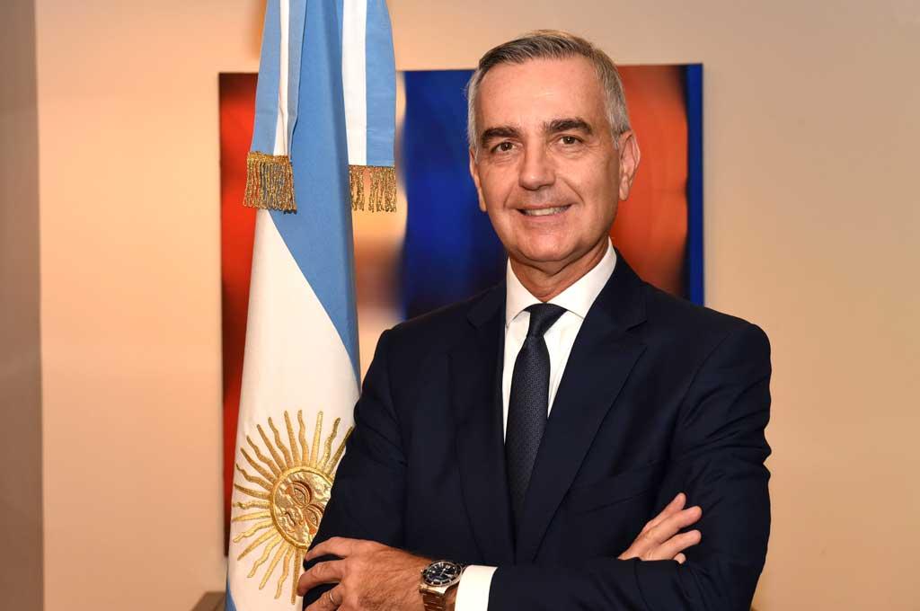 Gustavo Zlauvinen es el nuevo Secretario de Relacione Exteriores