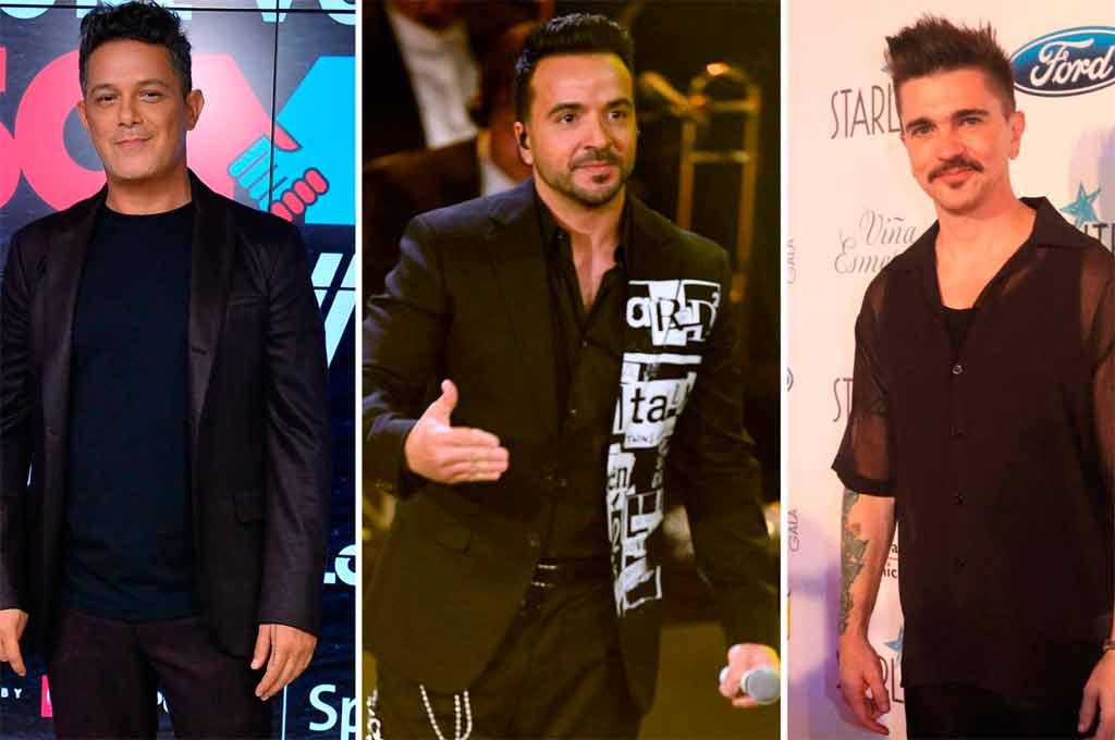 Alejandro Sanz, Luis Fonsi y Juanes cantarán por Venezuela