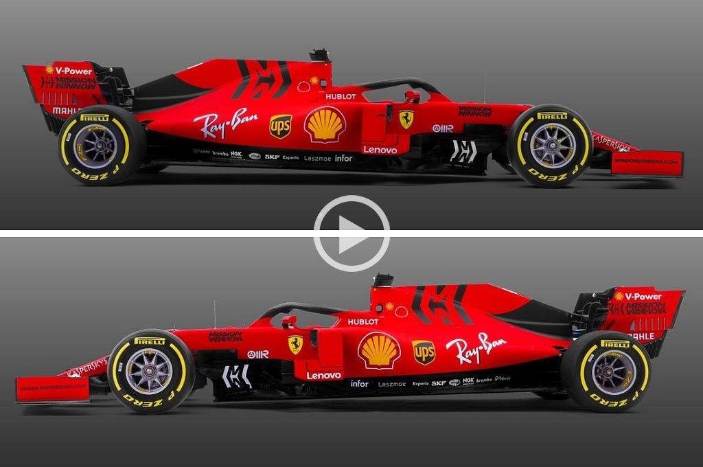 Ferrari presentó su nuevo monoplaza para el campeonato 2019