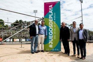 Lanzamiento oficial de los Juegos Suramericanos de playa -  -