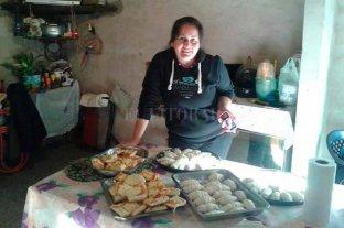 Un año sin la seño Vane - Vanesa trabajaba hasta los fines de semana, horneando y vendiendo comida. -