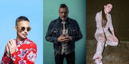 Tribus Club de Arte estrena su nuevo local  - Emmanuel Horvilleur, Fernando Ruiz Díaz y Sara Hebe. Algunos de los artistas que actuarán en el flamante espacio. -