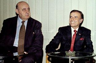Decomisan fondos de Gostanián - Gostanián y Menem. -