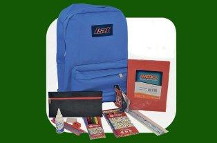 El Litoral te acompaña en el regreso al cole - Entre otros artículos, el kit escolar incluye la mochila. -