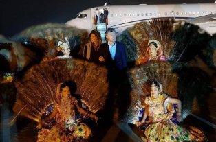 Macri llegó a la India en busca de acuerdos bilaterales