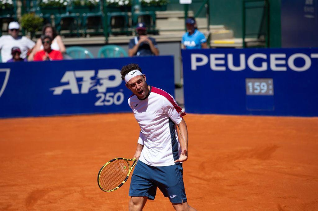 Schwartzman no pudo con Cecchinato y cayó en la final del Argentina Open