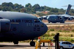 Aviones de EEUU con ayuda para Venezuela aterrizaron en Colombia