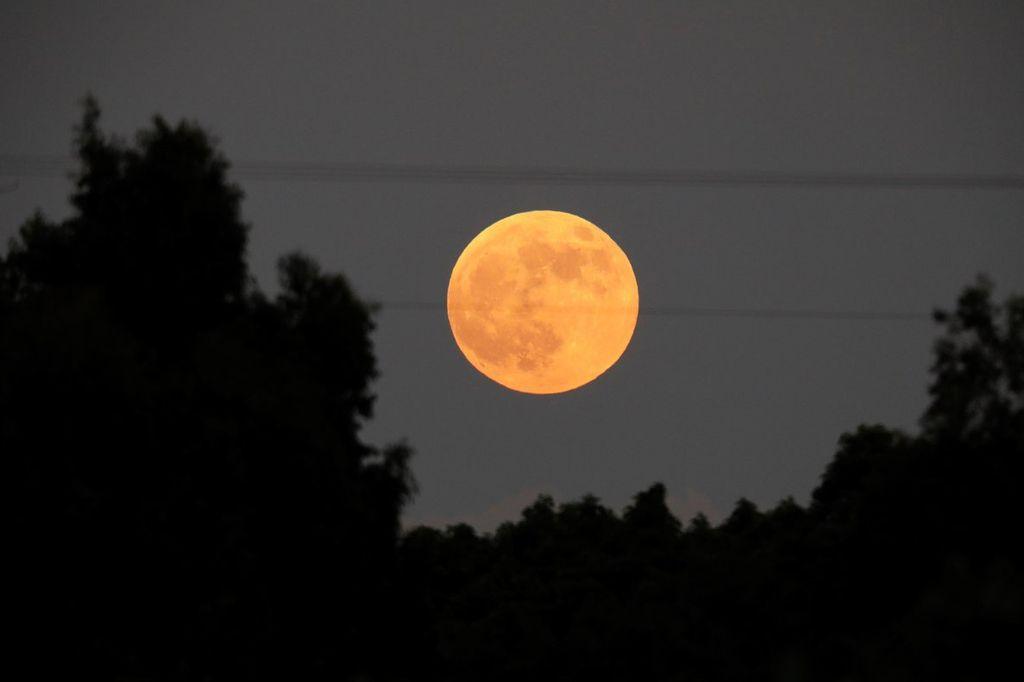 La superluna que se podrá observar este martes