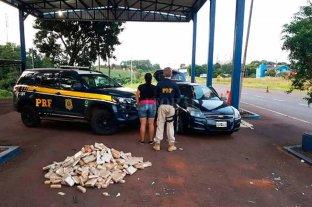 Argentina detenida en Brasil con 100 kilos de marihuana
