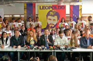 Guaidó recordó el quinto aniversario de la detención de Leopoldo López
