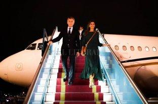 Macri inició en Vietnam el último tramo de su gira asiática -  -
