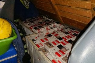 Secuestraron más de 8.000 atados de cigarrillos de contrabando -