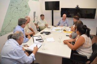 Lamberto se reunió con representantes de productores y funcionarios por La Picasa -  -