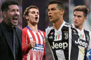 Miércoles de Champions: Atlético Madrid vs Juventus protagonizan el duelo del día