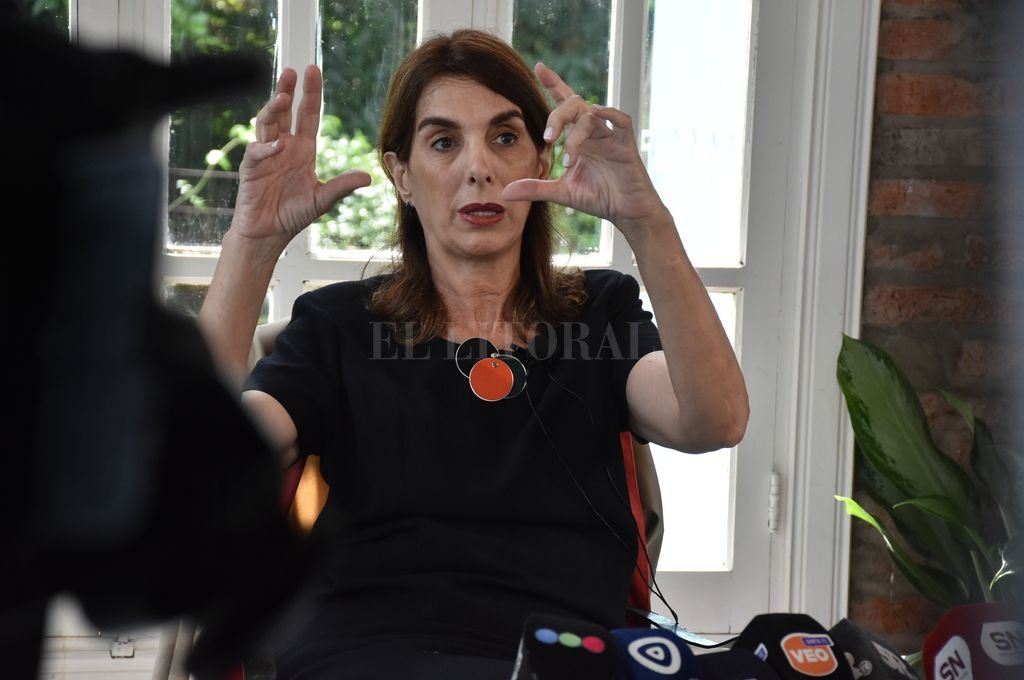 Ex vicegobernadora y ex diputada provincial María Eugenia Bielsa.  <strong>Foto:</strong> Guillermo Di Salvatore