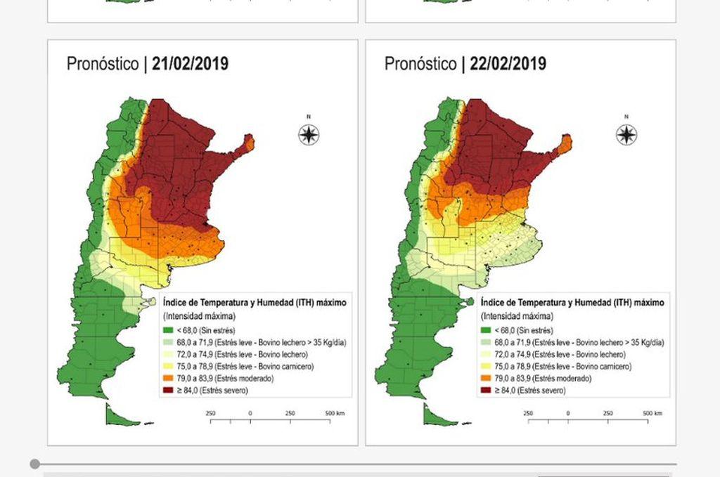Altas temperaturas y lluvias inferiores al consumo hídrico de los cultivos en campaña