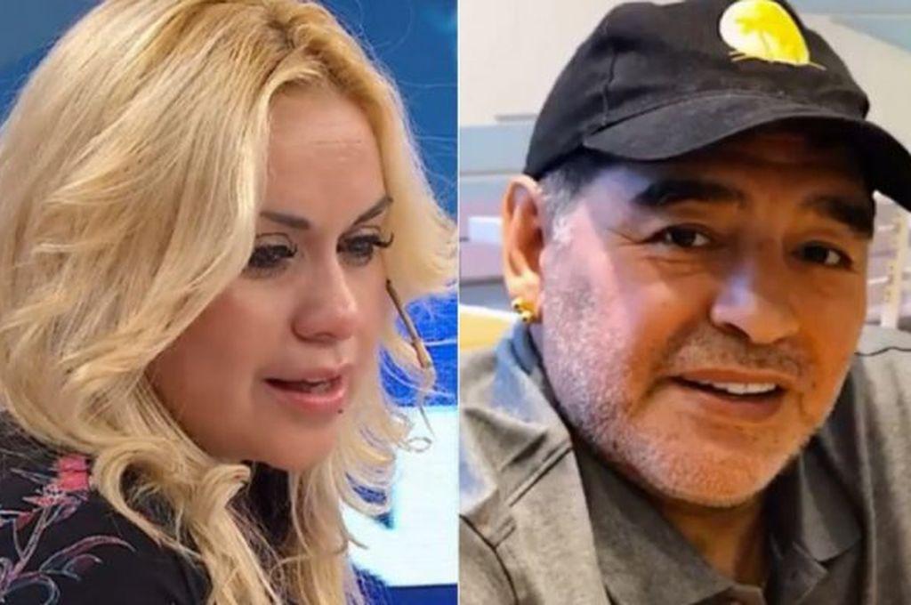Verónica Ojeda dejó solo a Diego Maradona en México