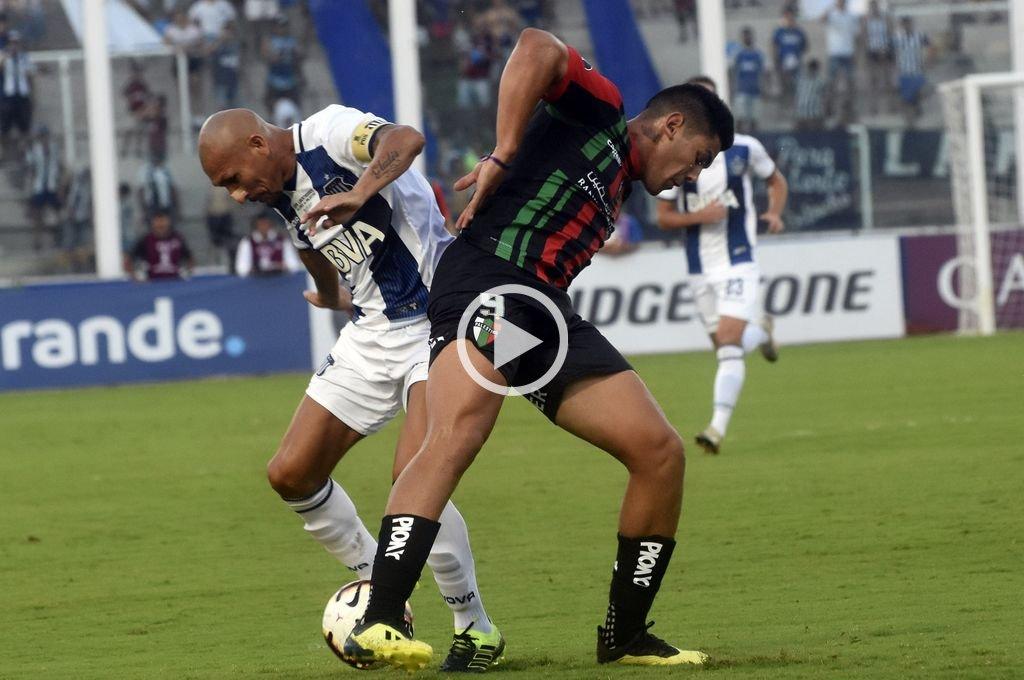Talleres no pudo sostener una ventaja de dos goles y empató con Palestino de Chile