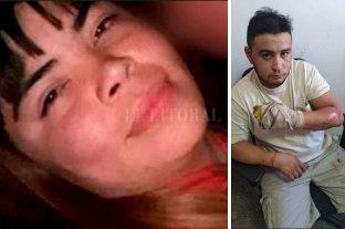 Murió la joven quemada por su pareja durante una discusión - Rocío Micaela Cortés (24 años) y Leonel Barrios (23). -