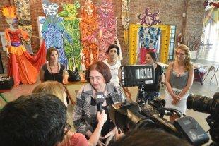Presentaron propuestas para el carnaval -  El miércoles por la tarde, en La Redonda, la ministra de Innovación y Cultura Chiqui González, presentó las actividades. -
