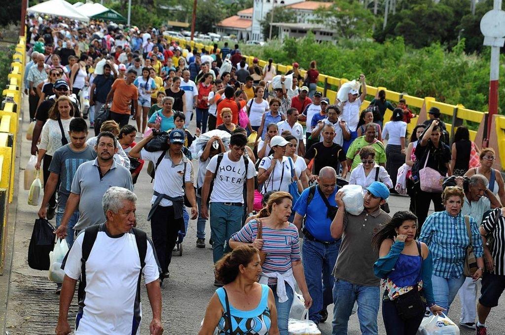 Se calcula que unos 5.000 venezolanos huyen de su país cada día <strong>Foto:</strong> Archivo
