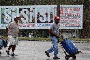 Cuba votará el domingo para refrendar la nueva Constitución