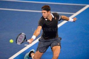 Del Potro fue eliminado en los cuartos de final del ATP de Delray Beach -  -