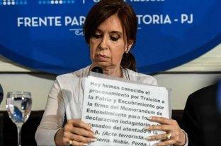 Cristina Kirchner presentó un escrito y no respondió preguntas
