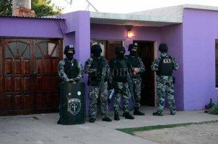 Allanamientos, secuestro de drogas y detenciones por narcotráfico