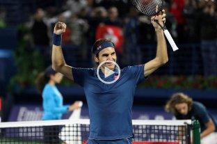 Federer alcanzó el 100° título de su carrera