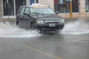 Estado del tránsito de rutas santafesinas por la tormenta