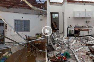 Esperanza, una de las ciudades más afectadas por el temporal