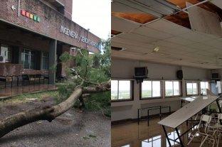 Temporal en Santa Fe: reparan los daños causados en instalaciones de la UNL