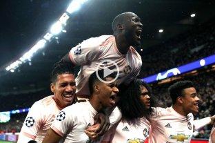 Manchester United eliminó al PSG de manera agónica y se metió en cuartos