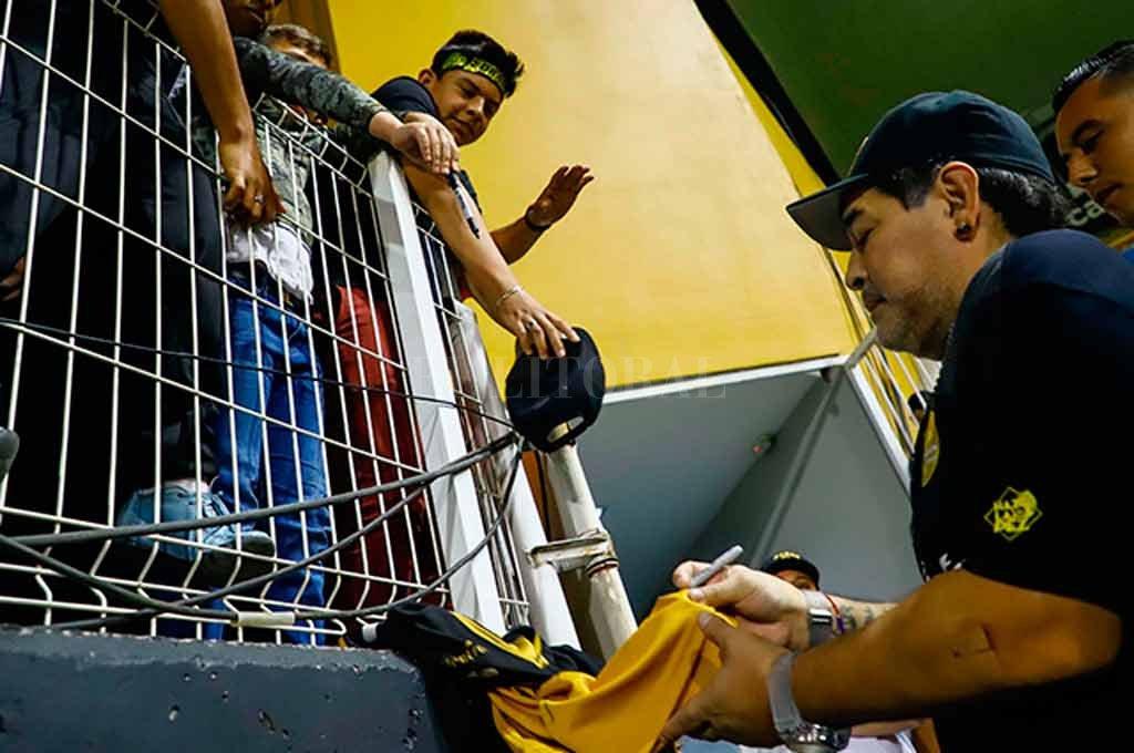 Maradona considera que Dorados dio un 'salto de calidad'