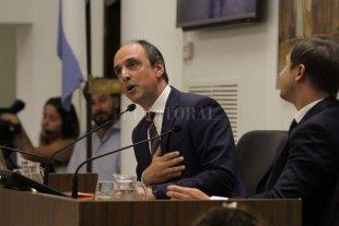 La campaña electoral se coló en el último discurso de José Corral
