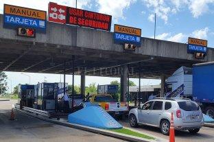 Semana Santa: circularon menos vehículos por el Túnel Subfluvial -  -