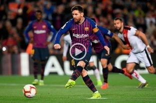 Barcelona ganó con un gol de Messi