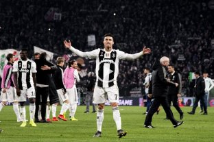 Con tres goles de Cristiano Ronaldo, Juventus goleó y dio vuelta la serie ante Atlético Madrid