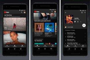 Google habilitó en el país YouTube Music y YouTube Premium