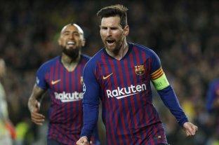 Con Messi como figura, Barcelona goleó y pasó a cuartos de final